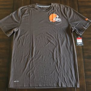 NWT Nike Dri-Fit Coach's STAFF CLEVELAND BROWNS L